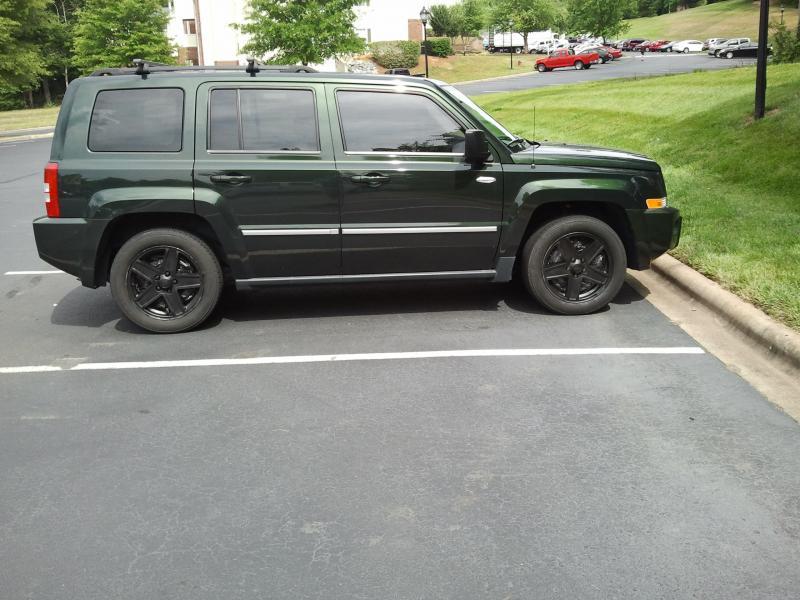 Patriot Rim Tire Combination Photographs Jeep Patriot Forums