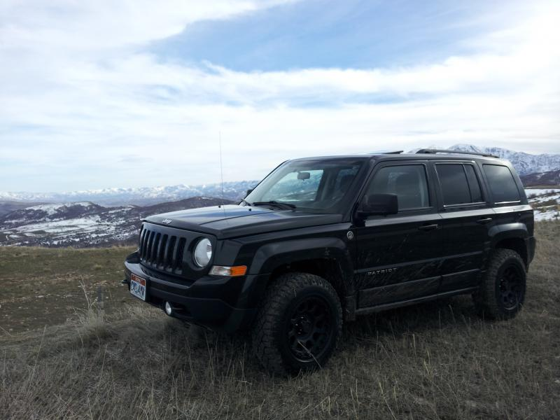 Tire Wheel Combo W Rro Lift Jeep Patriot Forums