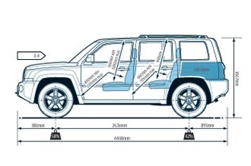 jeep patriot spec auto express. Black Bedroom Furniture Sets. Home Design Ideas