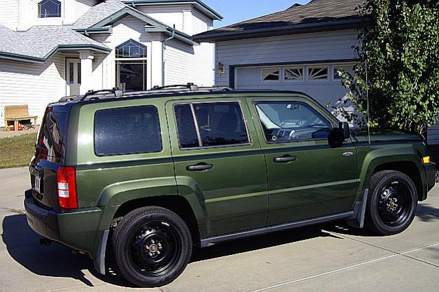 Black Painted Stock Rims Jeep Patriot Forums