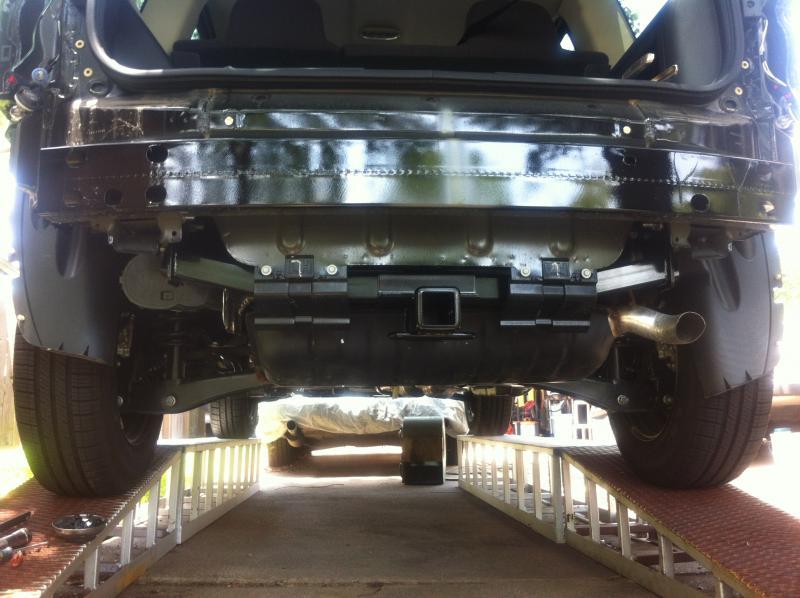 installing trailer hitch | jeep patriot forums  jeep patriot forums