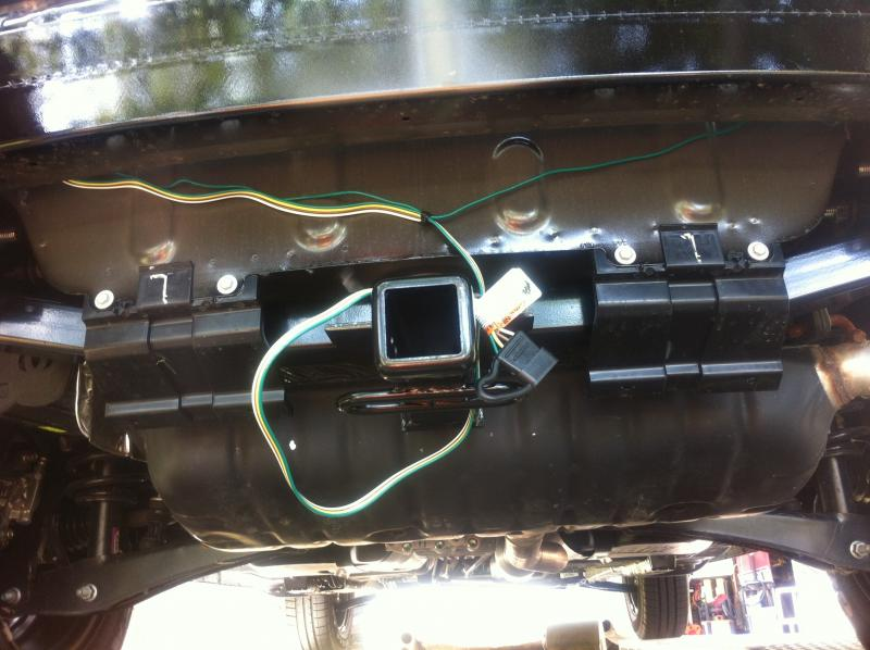 INSTALLING TRAILER HITCH Jeep Patriot Forums – Jeep Compass Trailer Wiring Harness