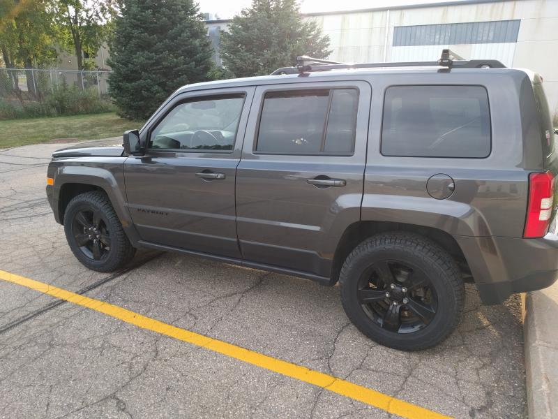 Tire Size Jeep Patriot Forums