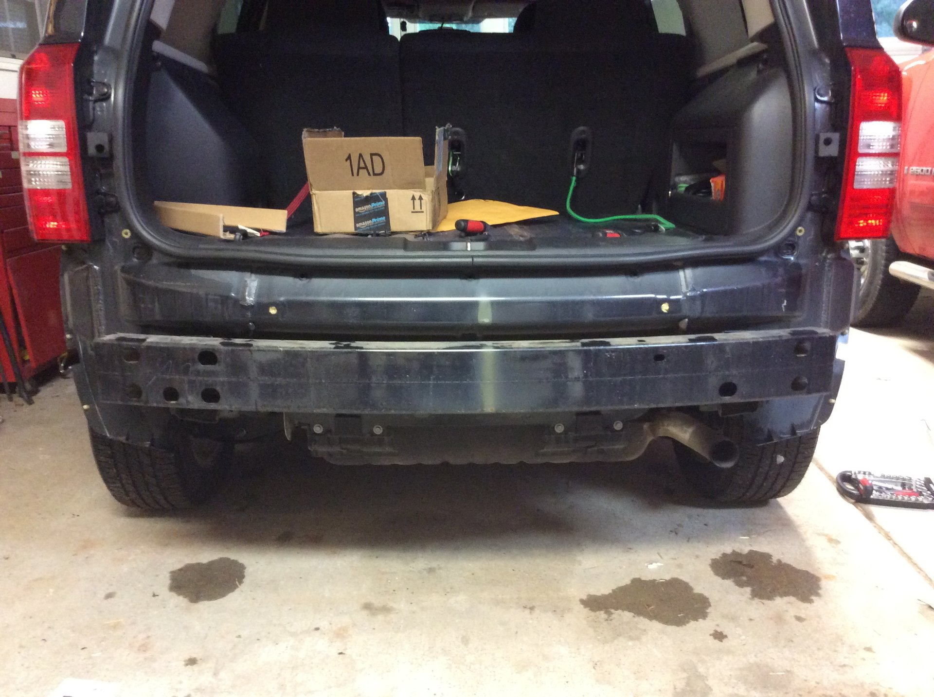 Installing A Trailer Hitch Jeep Patriot Forums