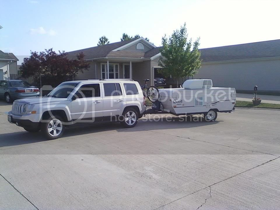 trial with a pop-up camping trailer | Jeep Patriot Forums