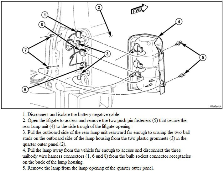 more trailer wiring questions, plugs in tail lights?? | jeep patriot forums  jeep patriot forums