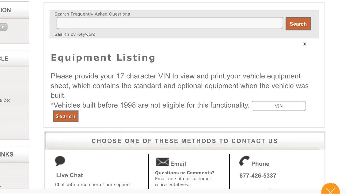 How to get your original build sheet | Jeep Patriot Forums